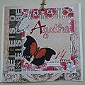 Etiquette Anniv Agathe 14ans