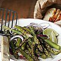 Sauce vinaigrette au roquefort pour salade (d'asperges vertes)