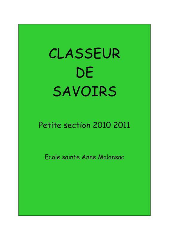 CLASSEUR