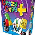 Boutique jeux de société - Pontivy - morbihan - ludis factory - Crazy Cups plus
