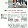 Le magazine des côtes d'armor : le sport adapté