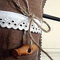 Minis coussins bijoux de porte : plein, plein ....