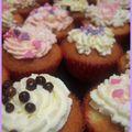 Cupcakes de filles