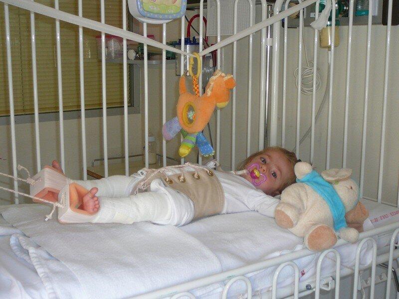2ème hospitalisation - Luxation de hanche