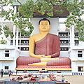 Plongée pas super concluante, Bouddha géant, marché puis cap sur Tangalle