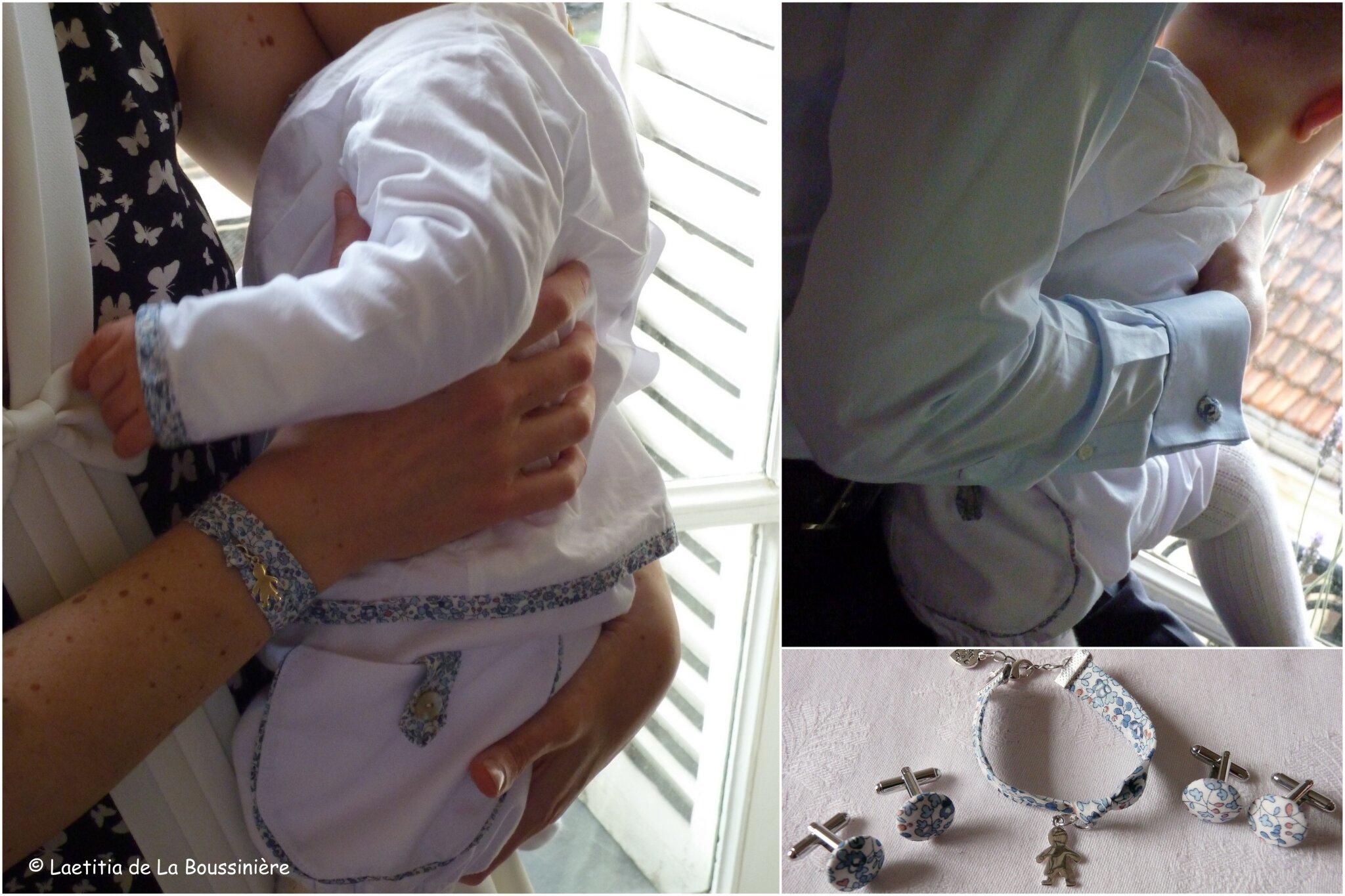 Le baptême du bébé Juliette