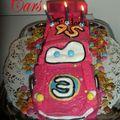 Gâteau cars flash mc queen 3d