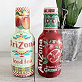 Arizona et ses jolies bouteilles de thé .