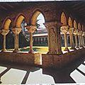 Moissac - cloitre de l'église abbatiale St Pierre