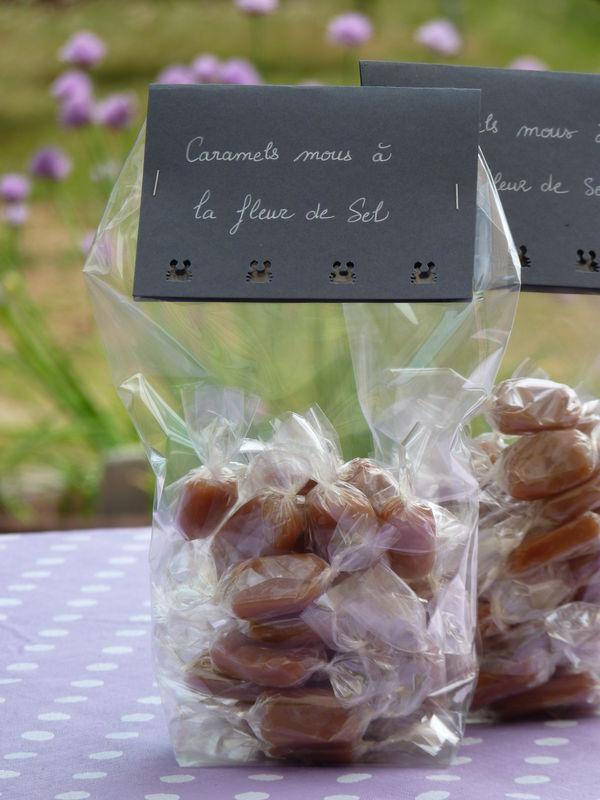 Caramels mous à la fleur de sel...