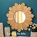Diy miroir soleil tendance scandinave