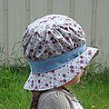 Le <b>chapeau</b>-<b>cloche</b> de Sarah Kay