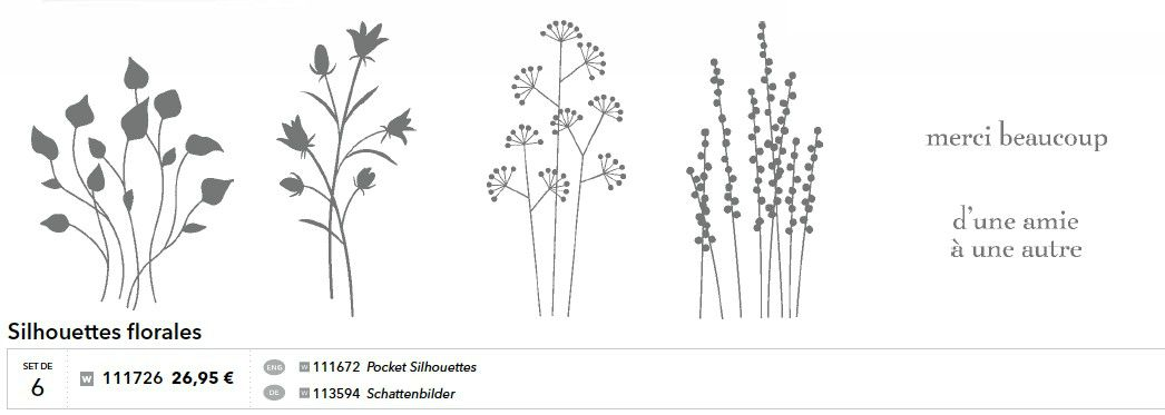 p050 silhouettes florales