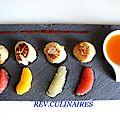 Les photos de mes recettes de saint-jacques à la criée