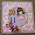 Cartes d'anniversaire 30 ans