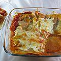 Lasagnes tomates mozzarella