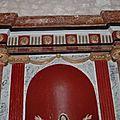 Chézery, autel de la Vierge