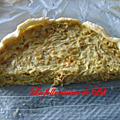 Tarte aux poireaux et fromage blanc