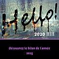 Bilan 2019 + programmation 2020/2021