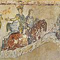 A propos des peintures de la chapelle Sainte <b>Radegonde</b> de Chinon (Chasse Royale)