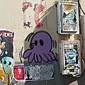 [street art in granville] des pieuvres de gzup