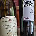 Rossignol-Trapet : Beaune Premier <b>Cru</b> : Les Teurons 2015, Montagne Saint Emilion : Simon Blanchard Village 2016