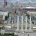 Barcelone... de montjuïc à la boqueira