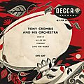 Tony Crombie And His Orchestra - 1954 - Tony Crombie And His Orchestra (Decca)