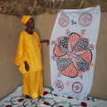 65 artisanat Panda NIANE - Brodeuse du village de Gawdé Bofé_1