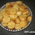 Crêpes soufflées au saumon fumé ou à la dinde (petits-fours)