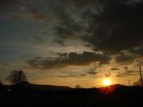 2008 04 04 Le soleil qui se couche