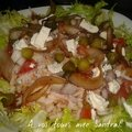 Salade de riz thon fêta pour 2 pers 7 pp