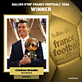 <b>Ballon</b> <b>d</b>'<b>Or</b> France Football : Ronaldo un sacre logique et mérité