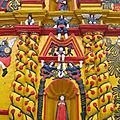 En pays maya - Yucatan et Hautes Terres (21/24). Aperçu de quelques églises baroques du Yucatan et des Hautes-Terres.