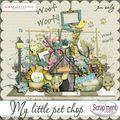 Kit my little pet shop de scrap'ment votre