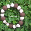 bracelet avec des perles