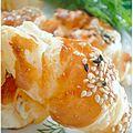 croissant, saumon & st môret