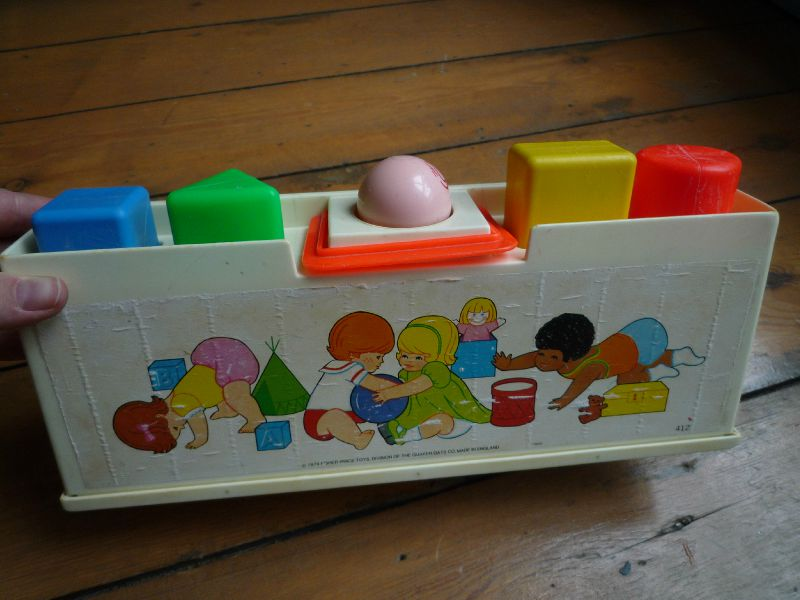 Shape sorter Fisher Price - 1974-1984 (3)