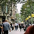 Faire du shopping à Barcelone