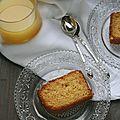 Kika ou meskouta : cake marocain à l'orange