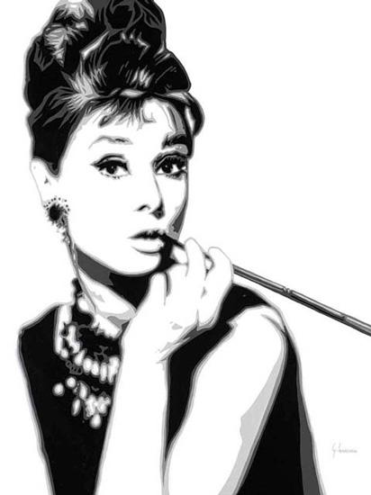 Dessin Breakfast at Tiffany's