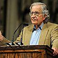 (Chomsky) L'Europe est la servante des États-Unis car ses états membres sont trop lâches pour adopter une position indépendante
