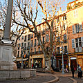 Aix en Provence : la douceur de vivre