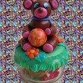 Bonbonnière ours : PIF pour Cybelline