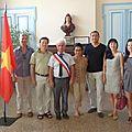 VILLENEUVE : Son Excellence l'<b>ambassadeur</b> du Vietnam en voyage privé à Villeneuve