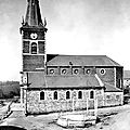 ANOR - L'église en mai 1940