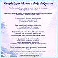ORAÇÃO ESPECIAL PARA O <b>ANJO</b> <b>DA</b> <b>GUARDA</b>