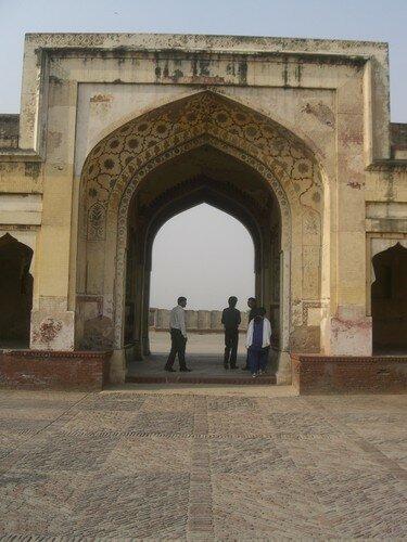 Lahore, fort, Shish Mahal