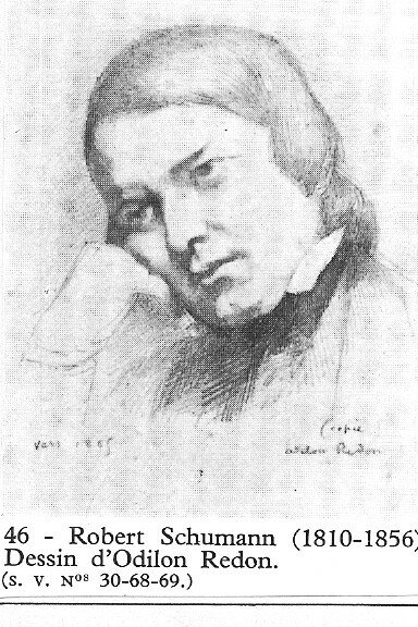 schumann (robert) 1810-1856 allemagne