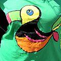 Tee shirt toucan